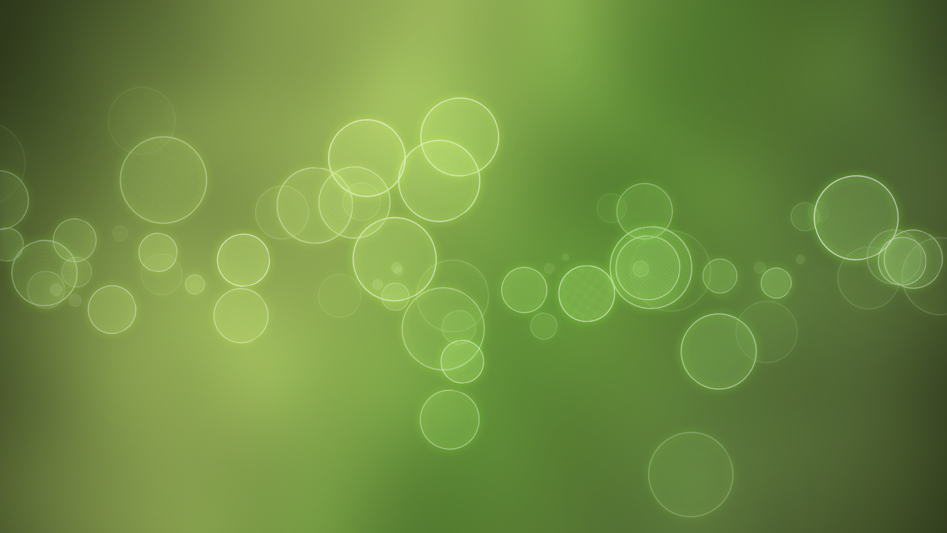 Bright-Bubbles-on-Light-Green-Background-Style-is-Thus-Clean-and-Simple-Looking-Good-on-Any-Computer-HD-Creative-Wallpaper